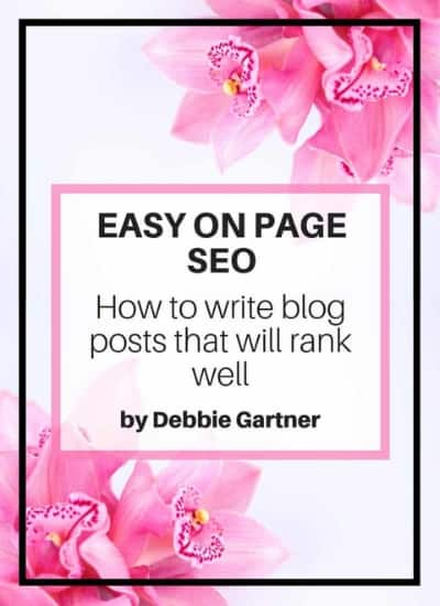 easy on page optimization for good rankings