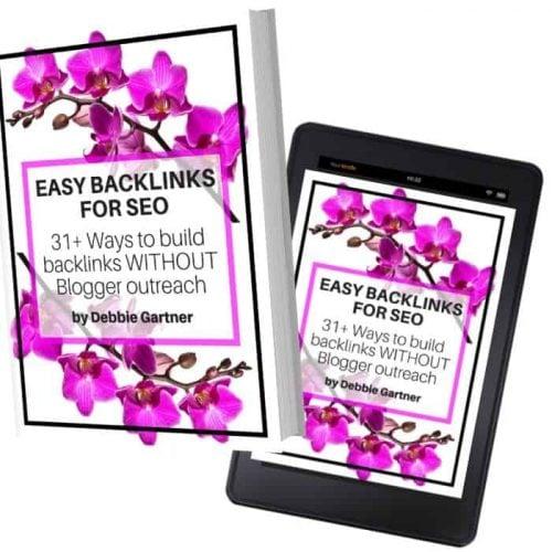 Easy backlinks for SEO ebook