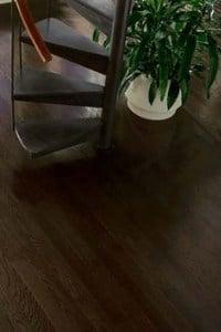 dark Espresso hardwood - refinish oak floors White Plains NY