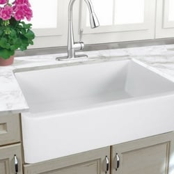 upgrade kitchen with farmhouse sink