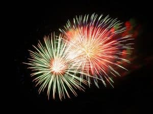 4th of July 2017 fireworks in Westchester County