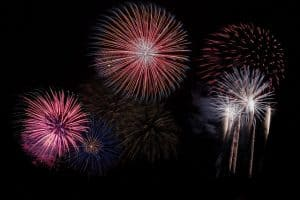Fourth of July fireworks in White Plains and Westchester NY 2017