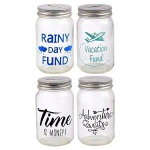 mason jar banks for saving money
