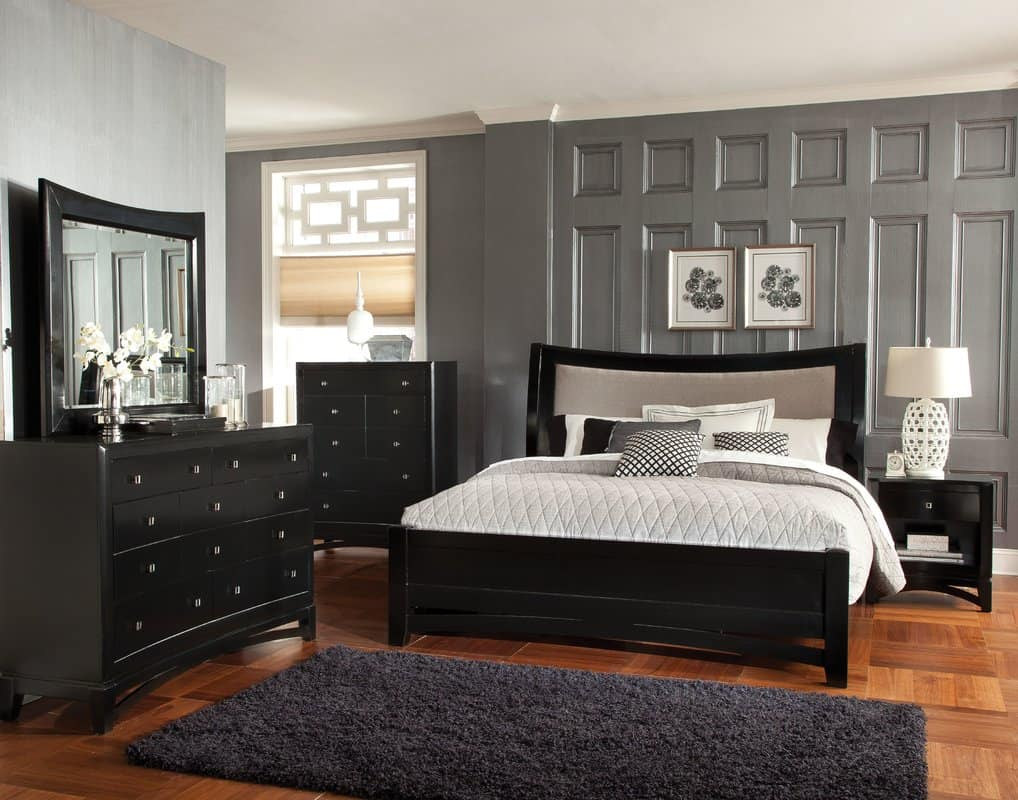 best paint shades for bedrooms - grays