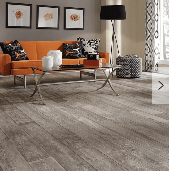 choosing a paint color that complements gray hardwood floors