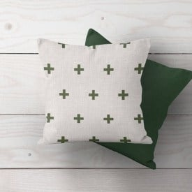 farmhouse and rustic style pillows for christmas