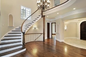 does stain make your hardwood waterproof