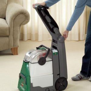best steam cleaner for carpet - big green machine