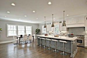 Does dark hardwood flooring make a home look smaller