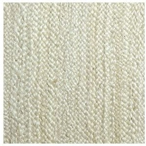 light cream chunky jute carpet