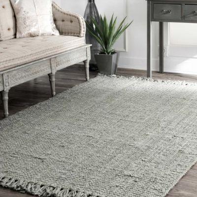 gray sisal jute area rug