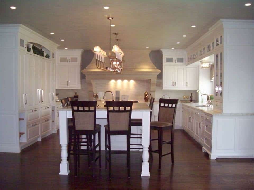 Kitchens With Dark Hardwood Flooring Westchester County