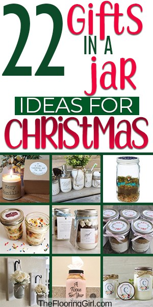 If you are still looking for a perfect Christmas gift, these mason gift in a jar could be what you are looking for. From simple homemade DIY gifts to something more meaningful, we have them all. Simple treats and spa days to something more unique can be found in this list. #theflooringgirl #masonjar #masonjargifts #christmasgifts #christmaspresents