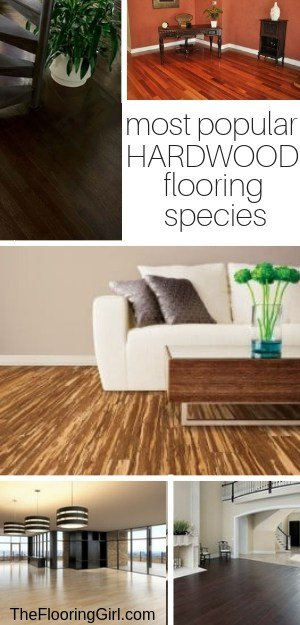 most popular hardwood flooring species