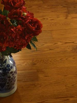 oak hardwood floors basement westchester
