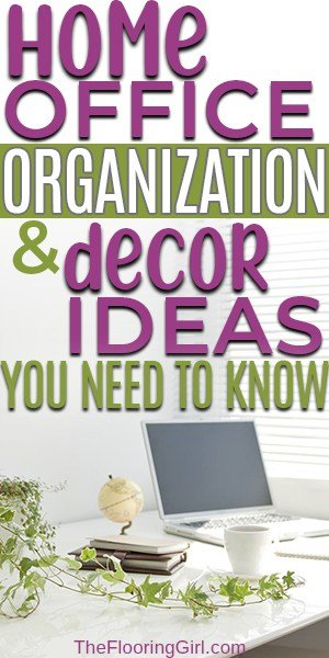If you are looking for some budget-friendly frugal home office ideas related to organization or decor, we have some great options for you. Decorating your office space doesn't need to be stressful or expensive.