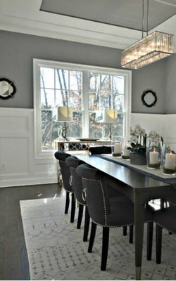 best shades of paint for dark hardwoods - ebony and espresso stains