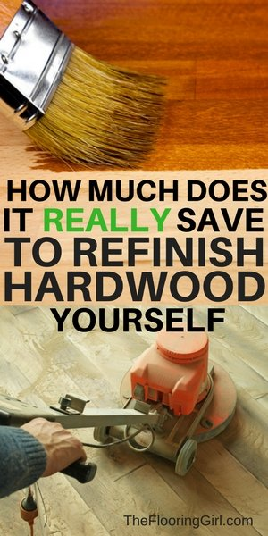 How much does it really save to sand your hardwood floors yourself - DIY vs hiring a pro