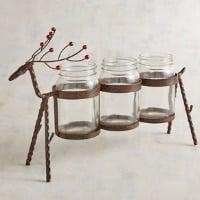 reindeer mason jar gift