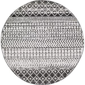 black and white round area rugs on Wayfair