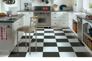 kitchen flooring choices - sheet vinyl