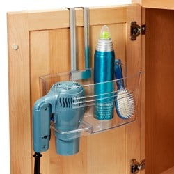 under sink caddy to declutter cabinets