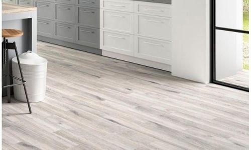 whitewashed gray tile plan flooring for kitchens