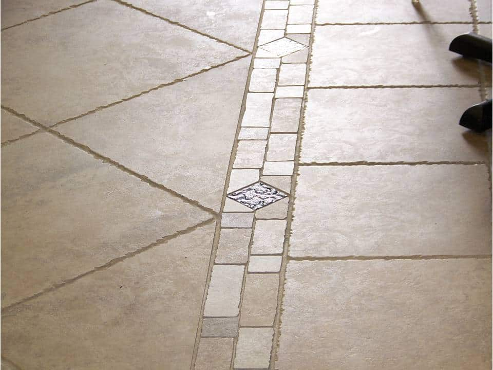 Tile Flooring With Border Westchester NY The Flooring Girl
