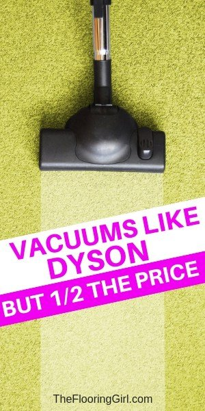 high quality vacuums that are less than half the price of Dyson