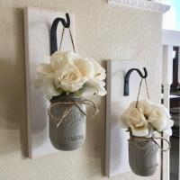 wall decor mason jar gift