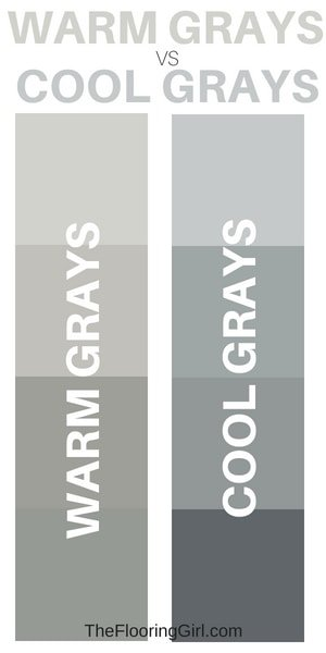 warm gray vs cool gray paint colors | Sherwin Williams greige colors