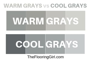 warn gray vs cool gray paints