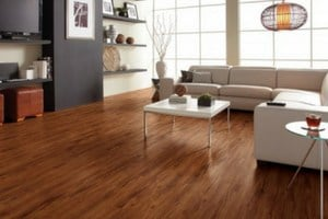 best flooring choices for basements - engineered vinyl plank