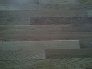 oil based poly on white oak