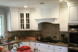 white painted cabinets - sherwin williams extra white